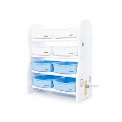 Ifam Design Toy Organizer (Regular) - (Blue/White Trays)