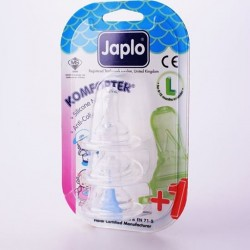 Japlo Komforter Anti-Colic Teats (3 Packs)