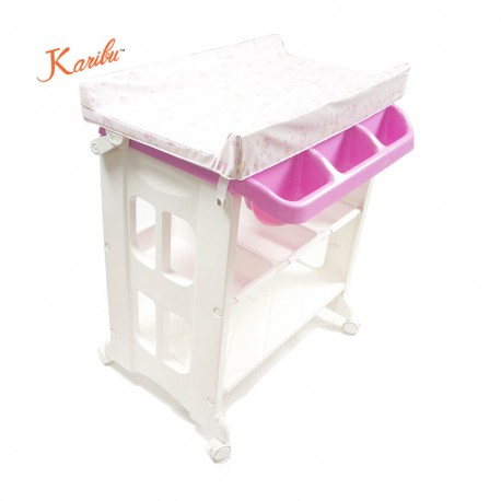 Karibu 2-in-1 Bath Station(Pink)