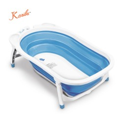Karibu Folding Bath Tub(Blue)