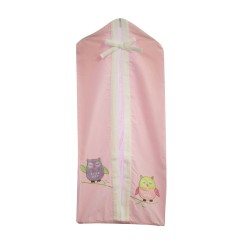Bubba Blue Baby Owl Girl Nappies Stacker