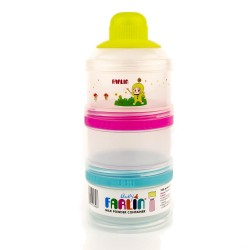 Farlin Milk Powder Container (Lime)