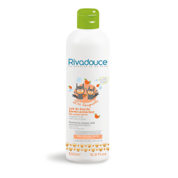 Rivadouce Loupiots Lait de Douche Dermo-Protecteur Miel et Abricot (Shower Milk for Dry Skin Honey & Apricot) 500ml