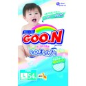 GOO.N JV Diapers L54 4-Pack + FREE Water Pocket Lotion Tissue
