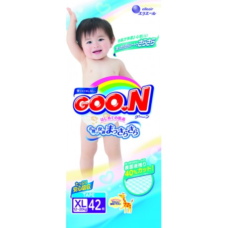 GOO.N JV Diapers XL42 4-Pack