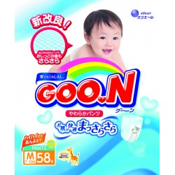 GOO.N JV Pants M58 4-Pack + FREE Water Pocket Lotion Tissue