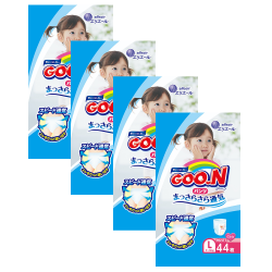 GOO. N JV Pants L44 Girls 4-Pack