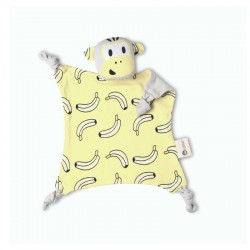 Kippins Cuddle Blankie Splits - Sorbet Yellow