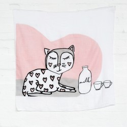 Kippins Kitty KippinTale Muslin Wrap