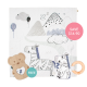 Bam Story-print Wrap Set (Buy 2 Free 1)