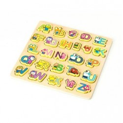 Pororo Wooden Toy Alphabet Board