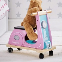 Piccolo House Jamm Scoot Ride On, Pink
