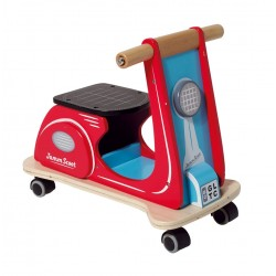 Piccolo House Jamm Scoot Ride On, Red