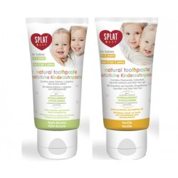 SPLAT Natural Baby Toothpaste (with finger-tip toothbrush) 0-3 yrs