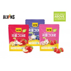 ALVINS Healthy Rice & Real Grain for 12 Months+ x 3 pkt