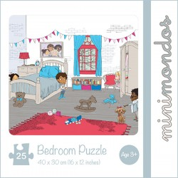Minimondos Bambino 25pc Bedroom Puzzle