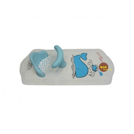 Bambino Bath Mat With Seat (Suction) Blue