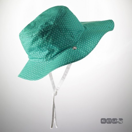 Ki ET LA Sun hat 2/4 years - Green Mood