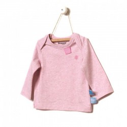 Snoozebaby Long sleeve Shirt in Pink melange