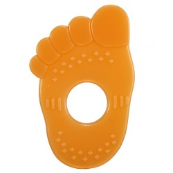 Simba Orange Flavor Silicone Teether - Foot
