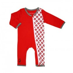 Bebe Bamboo zZippy Sleepsuit Apple