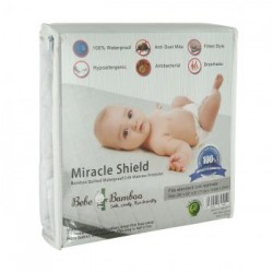 Bebe Bamboo Bamboo Quilted Waterproof Crib Mattress Protector