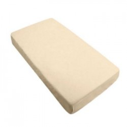 Bebe Bamboo Fitted Crib Sheet - Ecru