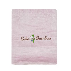 Bebe Bamboo - 100% Bamboo Kids Bath Towel - Purple