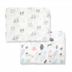 Bebe Bamboo 100% Bamboo Muslin Swaddle - Cuteness without Limit