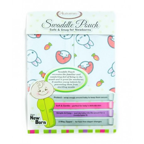 Autumnz Swaddle Pouch *2-Way Zipper* (Cotton)