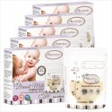 Autumnz Double Ziplock Breast Milk Storage Bag (25bags/box)-5oz/7oz/12oz) - (5 boxes) * BPA FREE*