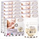 Autumnz Double ZipLock Breast Milk Storage Bag (25 bags/Box)-5oz/7oz/12oz-(10 boxes) *BPA FREE*