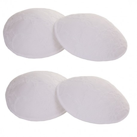 Autumnz Washable Breast Pads (6pcs/pack) - White Lace *TWIN PACK*